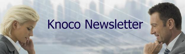 Knoco Newsletter; header graphic