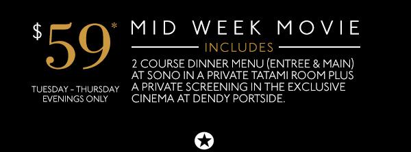 Mid Week Movie Deal