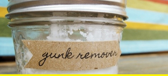 Homemade gunk remover? Yup.