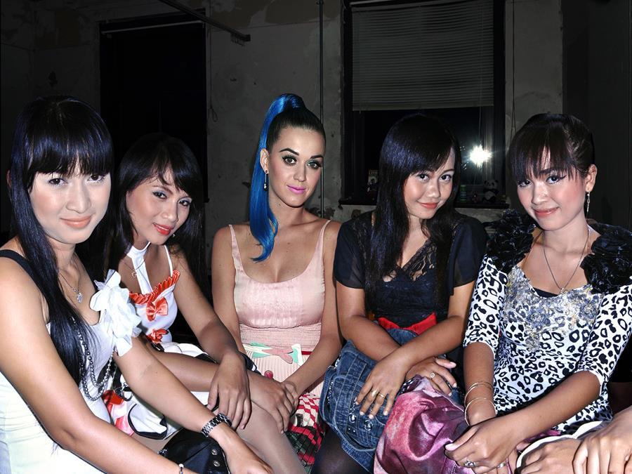 Katy Perry and Paris